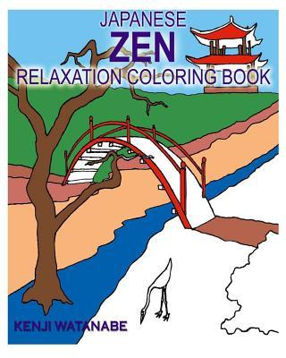 Japanese Zen Relaxation Coloring Book