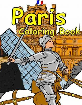 The Paris Coloring Book