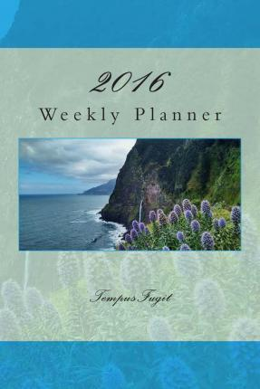 2016 Weekly Planner+notes, 12 Month
