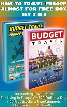 How to Travel Europe Almost for Free Box Set 2 in 1