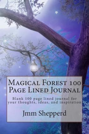 Magical Forest 100 Page Lined Journal