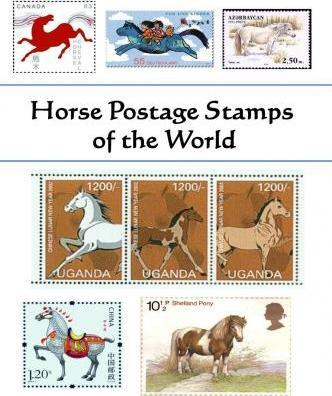 Horse Postage Stamps of the World
