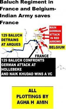 Baluch Regiment in France and Belgium-Indian Army Saves France