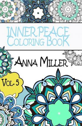 Inner Peace Coloring Book Pocket Size - Anti Stress Art Therapy Coloring Book