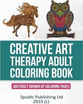 Creative Art Therapy Adult Coloring Book