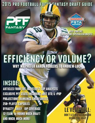 2015 Pro Football Focus Fantasy Draft Guide