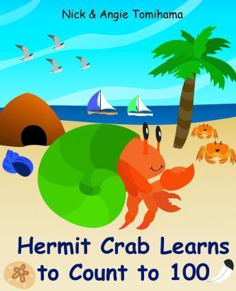 Hermit Crab Learns to Count to 100