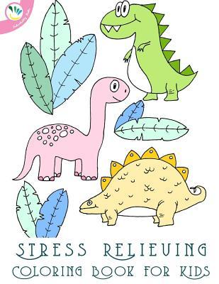 Stress Relieving Coloring Book for Kids