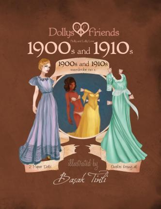 Dollys and Friends Paper Dolls