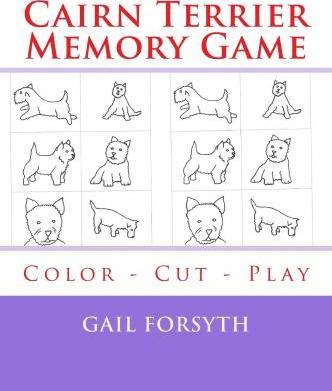 Cairn Terrier Memory Game