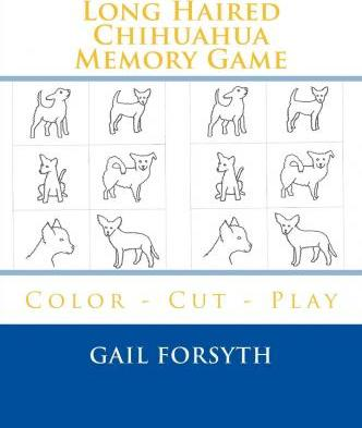 Long Haired Chihuahua Memory Game