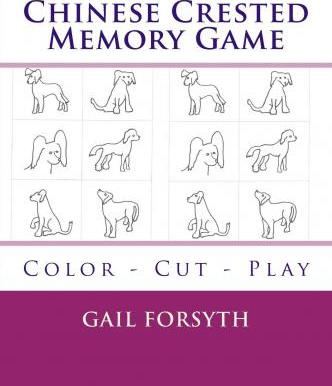 Chinese Crested Memory Game