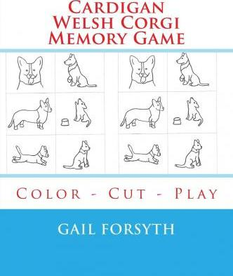 Cardigan Welsh Corgi Memory Game
