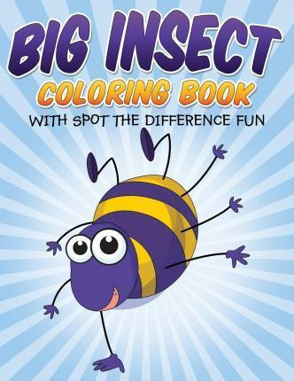 Big Insect Coloring Book