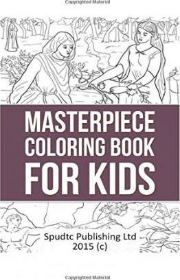 Masterpiece Coloring Book for Kids