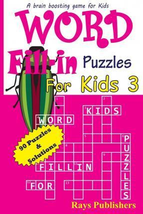 Word Fill-In Puzzles for Kids 3