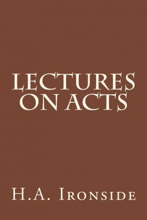 Lectures on Acts