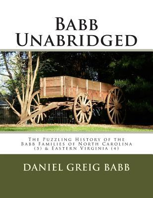 The Puzzling History of the Babb Families of North Carolina & Eastern Virginia