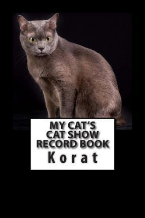 My Cat's Cat Show Record Book