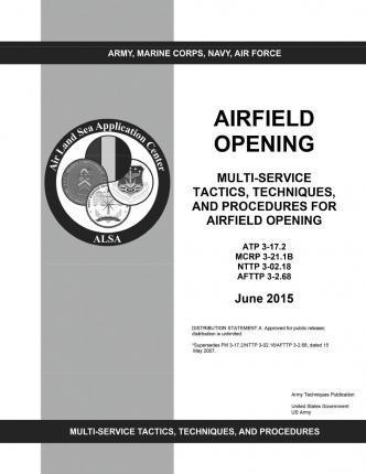 Army Techniques Publication Atp 3-17.2 McWp 3-21.1b Nttp 3-02.18 Afttp 3-2.68 Multi-Service Tactics, Techniques, and Procedures for Airfield Opening June 2015