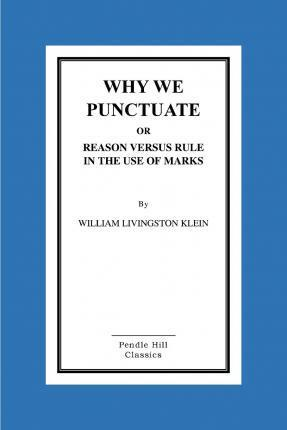 Why We Punctuate