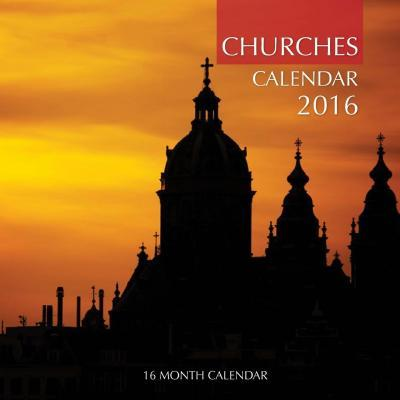Churches Calendar 2016  16 Month Calendar