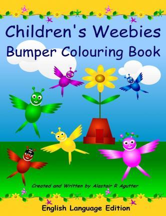 Children's Weebies Bumper Colouring Book