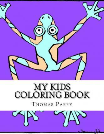 My Kids Coloring Book