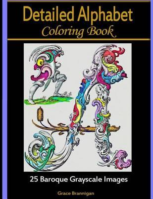 Detailed Alphabet Coloring Books