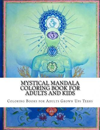 Mystical Mandala Coloring Book For Adults And Kids Rani Mukherjee
