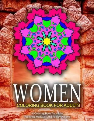 Women Coloring Books for Adults, Volume 4  Women Coloring Books for Adults