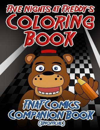 Five Nights At Freddy S Coloring Book The Night Guard 9781519622761