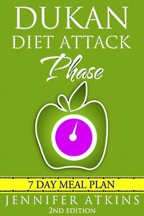 Dukan Diet : Attack Phase Meal Plan: 7 Day Weight Loss Plan