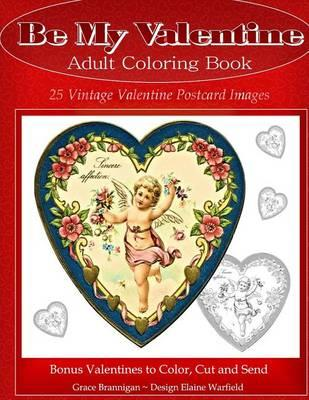 Be My Valentine Adult Coloring Book