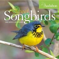 2020 Audubon Sweet Songbirds Mini Wall Calendar