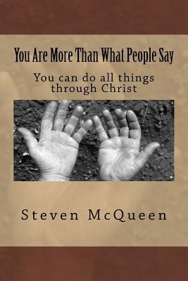 You are more than what people say