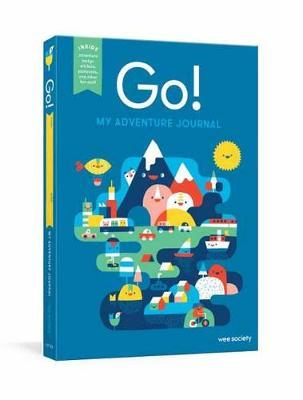 Go! Blue : A Kids' Interactive Travel Diary and Journal