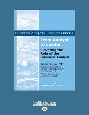 From Analyst to Leader  Elevating the Role of the Business Analyst