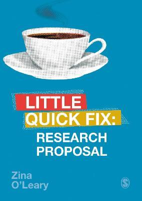 Research Proposal : Little Quick Fix