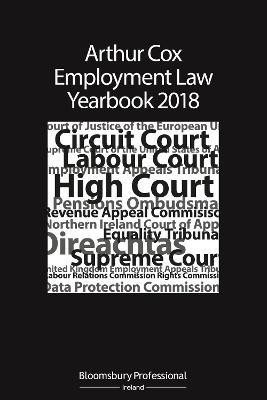 Arthur Cox Employment Law Yearbook 2018