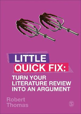 Turn Your Literature Review Into An Argument