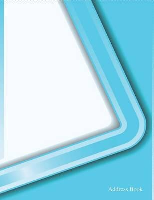 Address Book  White and Skyblue