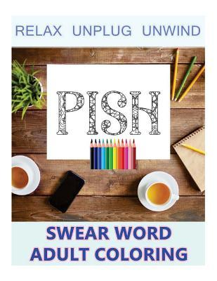 Swear Word Aduld Coloring-