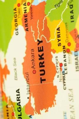 Map of Turkey Journal : 150 Page Lined Notebook/Diary