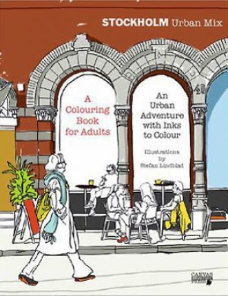 Stockholm Urban Mix, Colouring Book for Adults