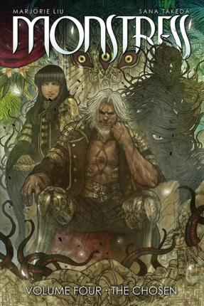 Monstress Volume 4 Cover Image