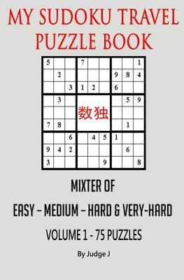 My Sudoku Travel Puzzle Book