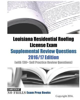 Louisiana Residential Roofing License Exam