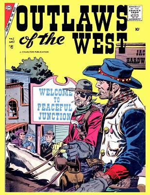 Outlaws of the West # 12  Golden Age Comics Wild West Western