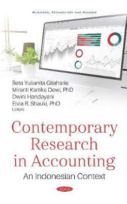 Contemporary Research in Accounting An Indonesian Context
